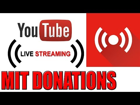 Live Stream mit Donations einrichten auf YouTube oder Twitch - am PC UND HANDY (Tutorial)