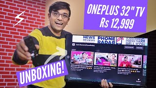 OnePlus 32 inch TV Unboxing & Hands-On ⚡⚡⚡ 32Y1 Y Series Smart TV