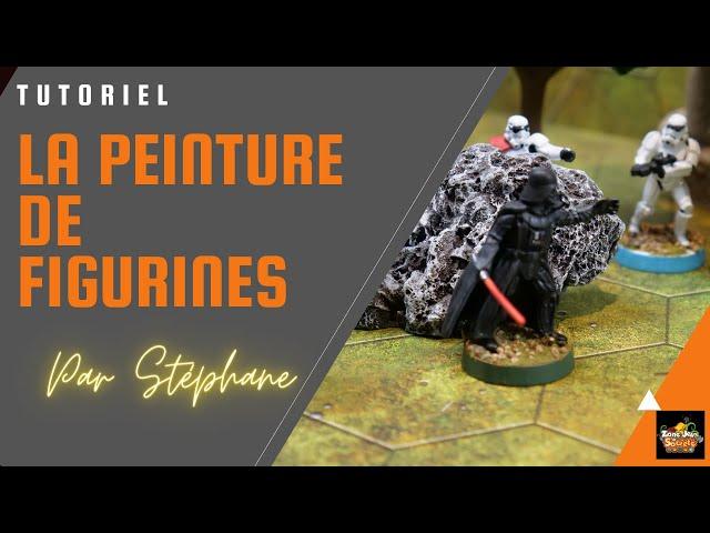 Tutoriel de peinture de figurines avec Stéphane