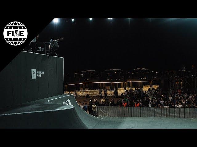 Nicolas Servy | 1st Roller Freestyle Pro Qualifier - FISE Jeddah 2018