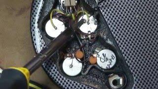 """Back In Black"" Gibson SG Standard 61 RI - Body Repaint: Part 1 Tear Down"