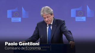 Las declaraciones de Paolo Gentiloni sobre las políticas fiscales