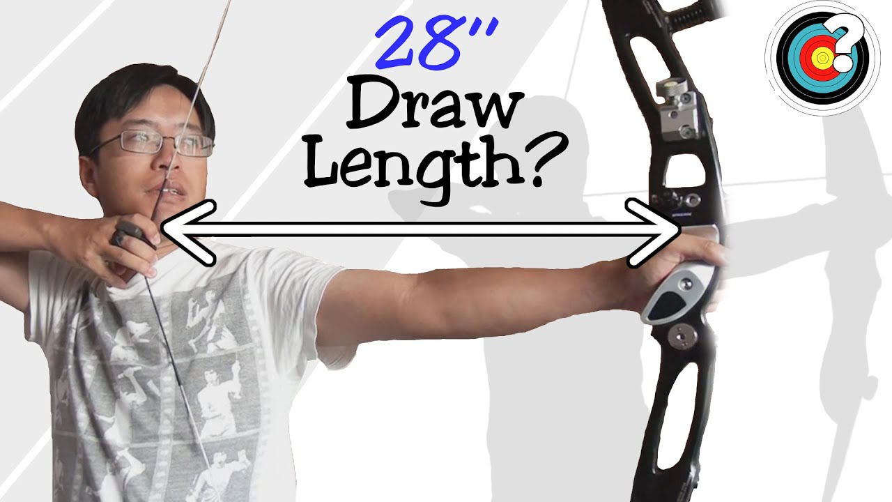 hoyt bow how to work out draw length