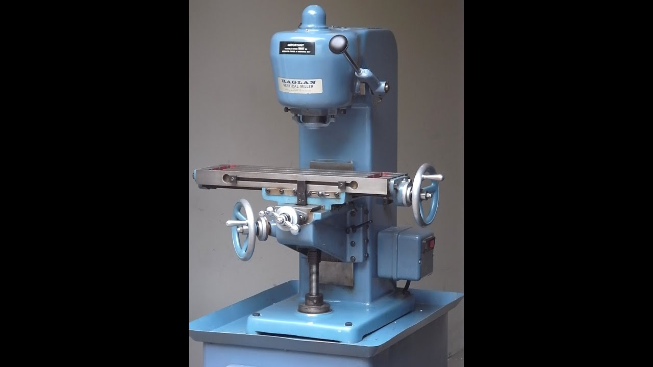 Raglan Vertical Small Milling Machine Fr 228 Smaschine Youtube