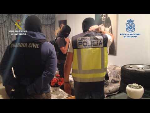 Operación  Cayenne  LasPalmas Policía Nacional - Guardia Civil