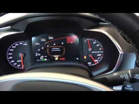2017 C7 Corvette - Gauge Cluster Change The RPM Circle To Look Like A Lamborghini