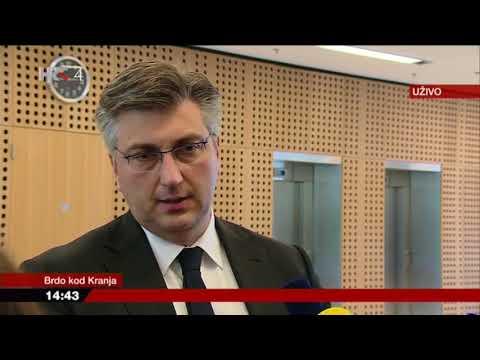 Izjava predsjednika Vlade Plenkovića nakon sastanka na vrhu SEECP-a (24.4.2018.)