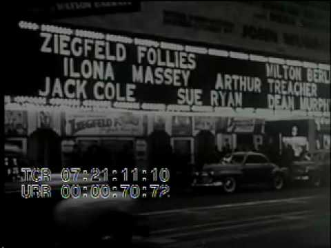 Stock Footage - Variety Magazine in 1930's Hollywood