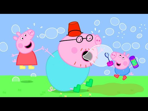 Peppa Pig Official Channel | Making Bubbles With Peppa Pig