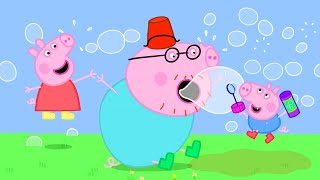 Peppa Pig Official Channel  Making Bubbles with Peppa Pig