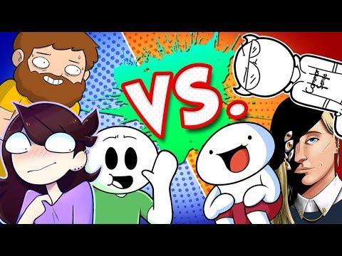 Drawfee Art Battle Royale - LIVE!  (ft. Jaiden Animations, theodd1sout, TimTom, and SomethingElseYT)
