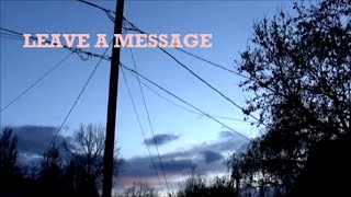 Gnash - Leave a Message Lyrics
