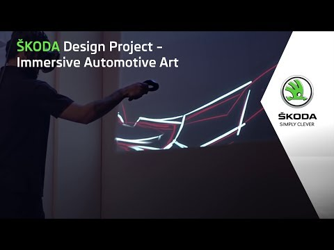 SKODA Design Project – Immersive Automotive Art
