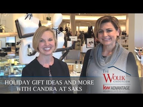 Tulsa Real Estate Agent: Holiday Gift Ideas and More with Candra at Saks