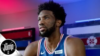 Joel Embiid wishes Jimmy Butler had stayed with the 76ers, but he didn't demand it | The Jump