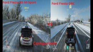 Forza Horizon 4-Ford Fiesta RS M-Sport Vs Ford Fiesta GRC-Comparison