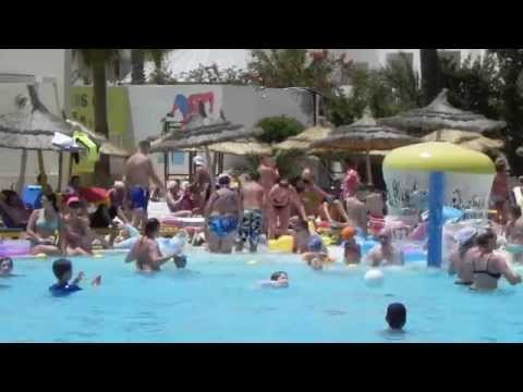 Houda Hotel Tunisia - Animation Dancing 2014