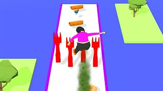 Fart Runner - All Levels Gameplay Android iOS (Levels 1-6)