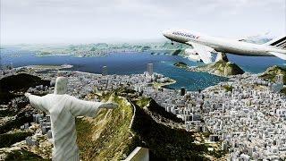 FLIGHT SIMULATOR 2016 RIO DE JANEIRO ULTRA GRAPHICS [HD]