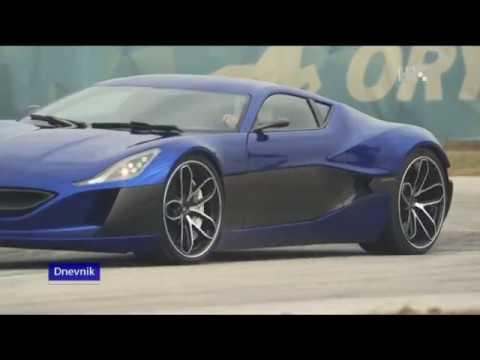 Made in Croatia - electric car-Mate Rimac -Concept One in Geneve