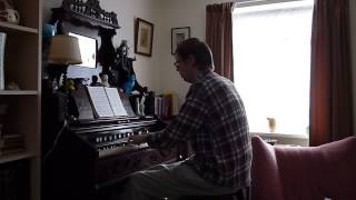 Shine Jesus Shine - played on an antique Dominion reed organ
