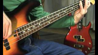 John Fred & His Playboy Band - Judy in Disguise - Bass Cover