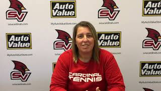 SVSU Women's Tennis Interview - Ashland / Wayne State