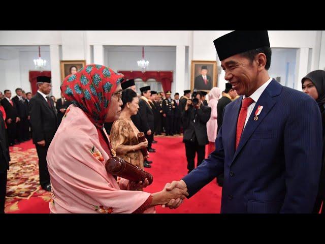 Upacara Penganugerahan Gelar Tanda Kehormatan Republik Indonesia, Istana Negara, 15 Agustus 2019