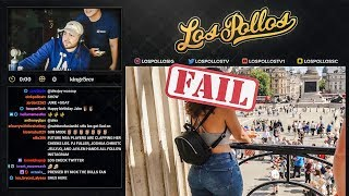 LosPollos Tries To Get Girls Number On Stream & Backfires