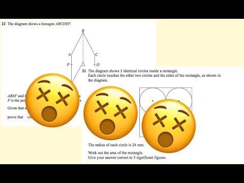 The 5 HARDEST Mathematics GCSE Exam Questions from 2017 (100 subs)