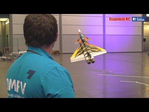 INSANELY COOL 3D Thrust Vectored INDOORS ELECTRIC RAFALE JET (DMFV PILOT: Jürgen Schönle)