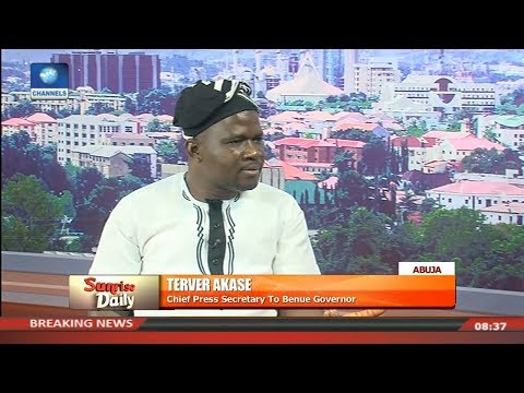 Benue Aide,Akase Asks Govt To Stop Killings,Insists Anti Grazing Law Will Not Be Repelled Pt.2