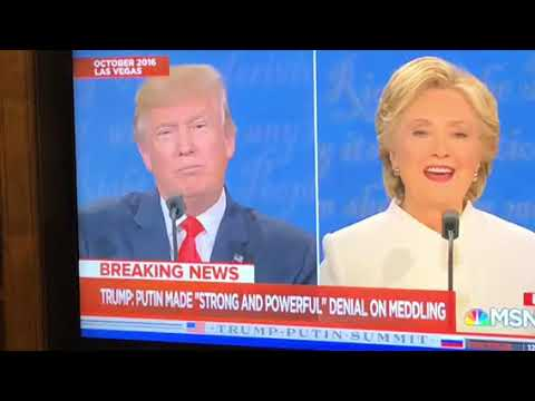 Hillary Clinton Predicted Donald Trump Would Be Putin Puppet