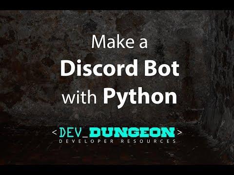 Make a Discord Bot in Python