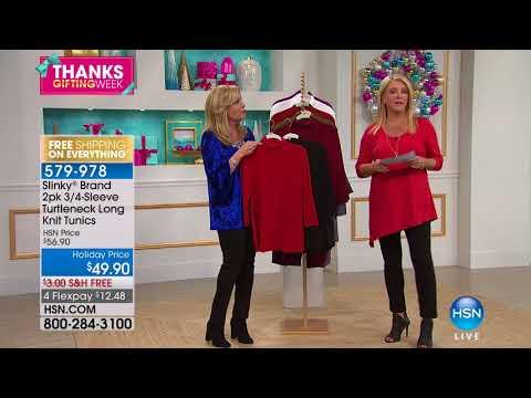 HSN | Slinky Brand Fashions 11.19.2017 - 02 PM