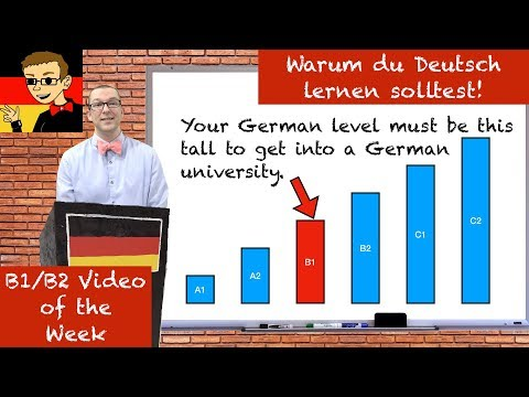Why you should learn German! - Learn Intermediate German for B1/B2 # - Deutsch lernen
