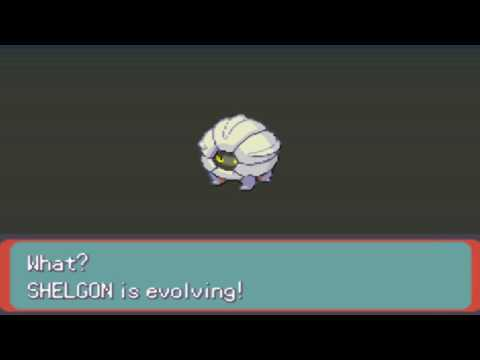 Pokemon Emerald Bagon Evolves To Shelgon And To Salamence HD