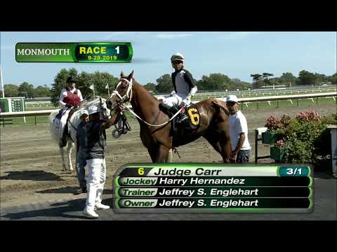 video thumbnail for MONMOUTH PARK 9-28-19 RACE 1