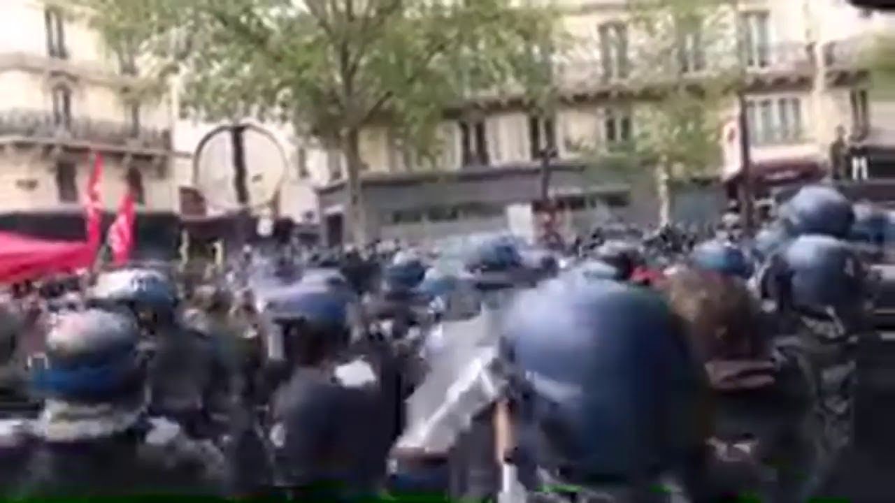 Rediffusion Direct : Manifestation du 1er mai à Paris