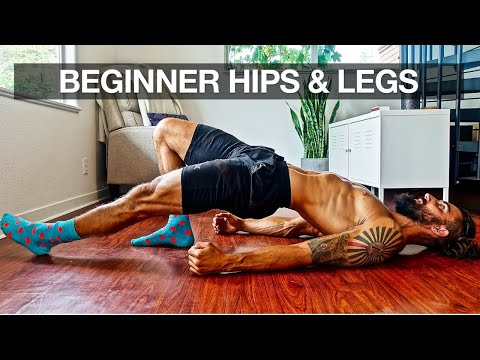 Beginner Leg Workout at Home (Full ROUTINE)