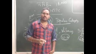 Railway Recruitment Board - Orientation/Introduction Class by Mr Pradeep .RRB in Telugu