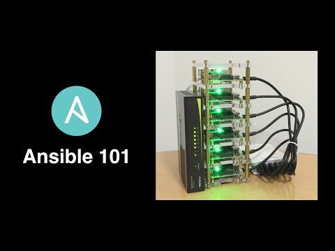 Ansible 101 - on a Cluster of Raspberry Pi 2s