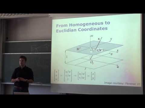 Photogrammetry I - 14 - Homogeneous Coordinates (2015)