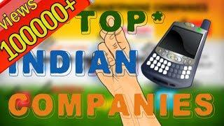 #Hindi भारतीय मोबाइल कंपनियों की सूची - List of Top made in India brand mobile smartphone companies