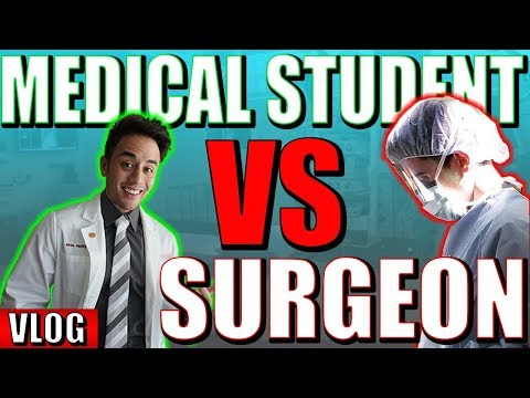 Plastic Surgeon VS Med Student | A Day in the Life of a Med Student and Resident | MSI Collab