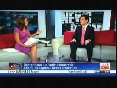 Majority Leader Eric Cantor Discusses President Obama's Middle East Speech & Israel On CNN