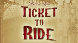 Ticket to Ride Pocket iPhone/iPod Gameplay