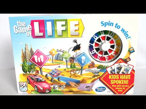 The Game Of Life From Hasbro YouTube - Game designer jobs uk