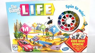 game of life spin to win instructions