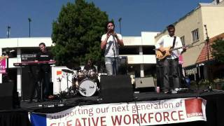 "No more kings ""Someday"" at burbank art festival"
